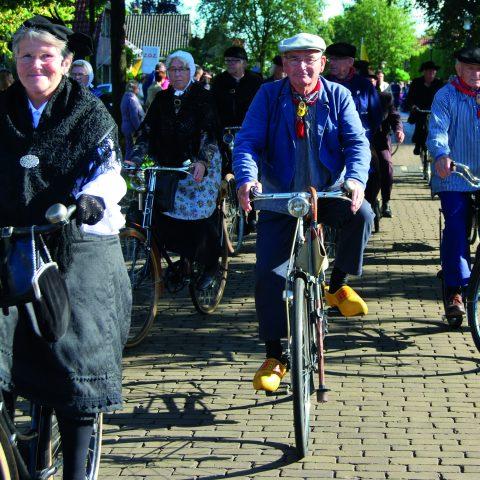 Sjaan Lunteren fietsclub omke